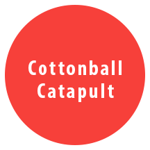 comm-cottonball catapult