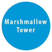 comm-marshmallow tower